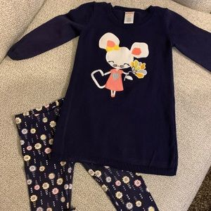 Gymboree Toddler sweater outfit